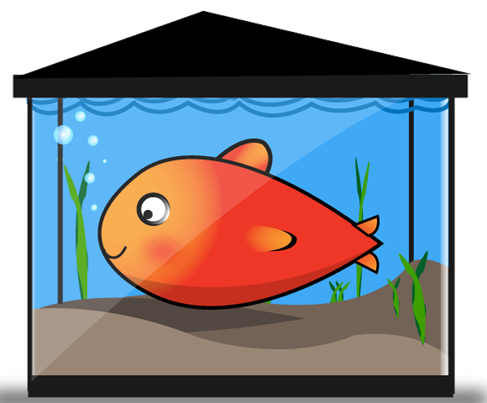 Free Vector Fish Tank Preview