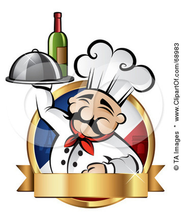 French Cuisine Clipart Logo For Our Restaurant