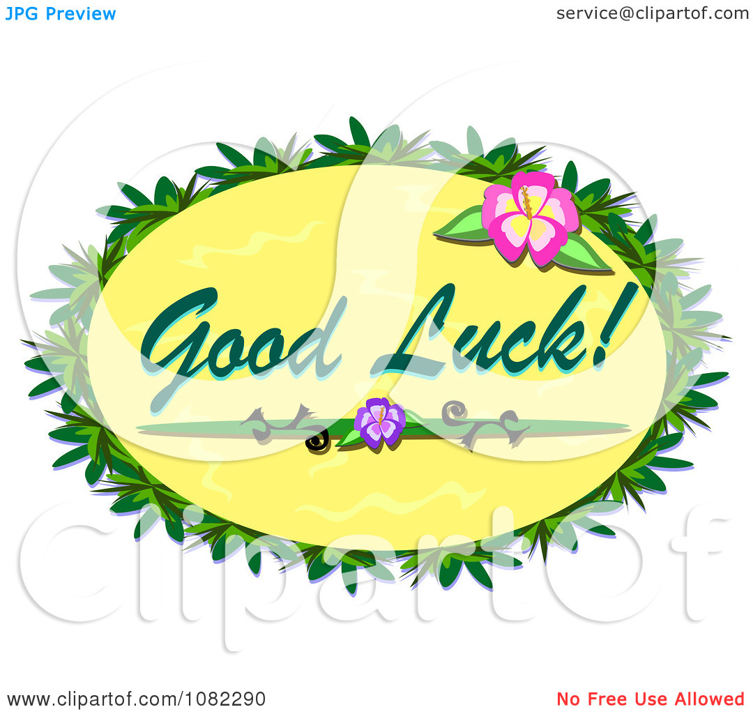 Free Clip Art Best of Luck