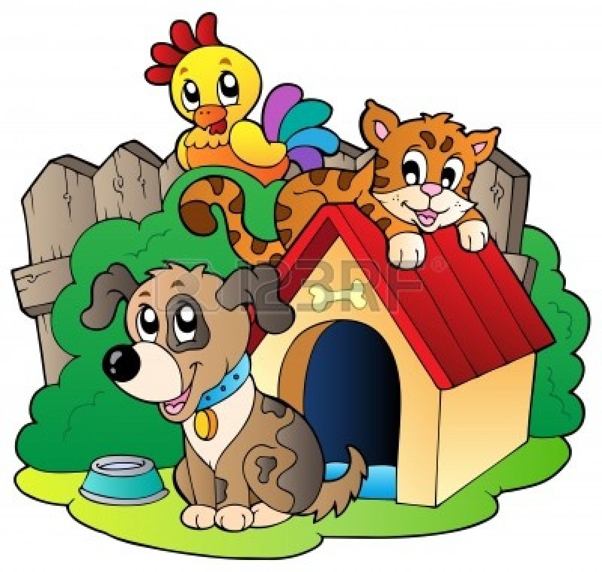Group Of Animals Clipart - Clipart Kid