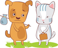 Group Pets Together Stock Vectors Illustrations   Clipart