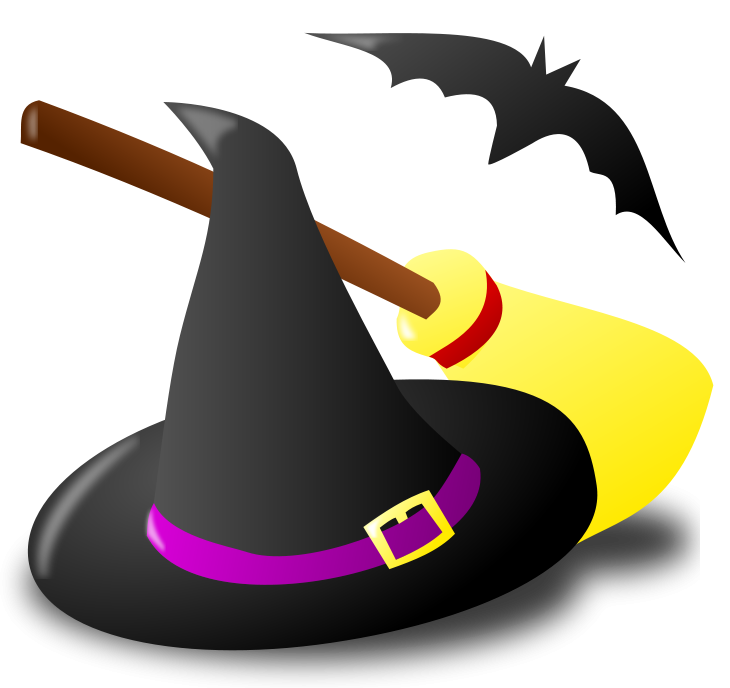 Halloween Witch Clipart - Clipart Kid