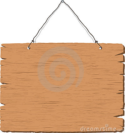 blank hanging sign - photo #11