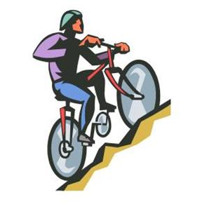 Mountain Bike From Microsoft Publisher Clipart