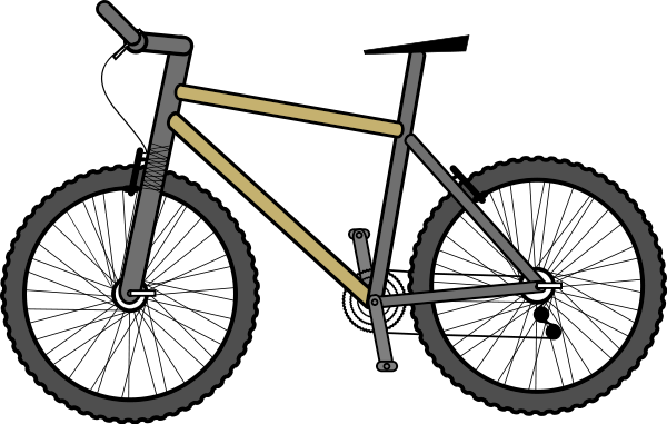 Mountain Bike   Http   Www Wpclipart Com Recreation Cycling Bicycles