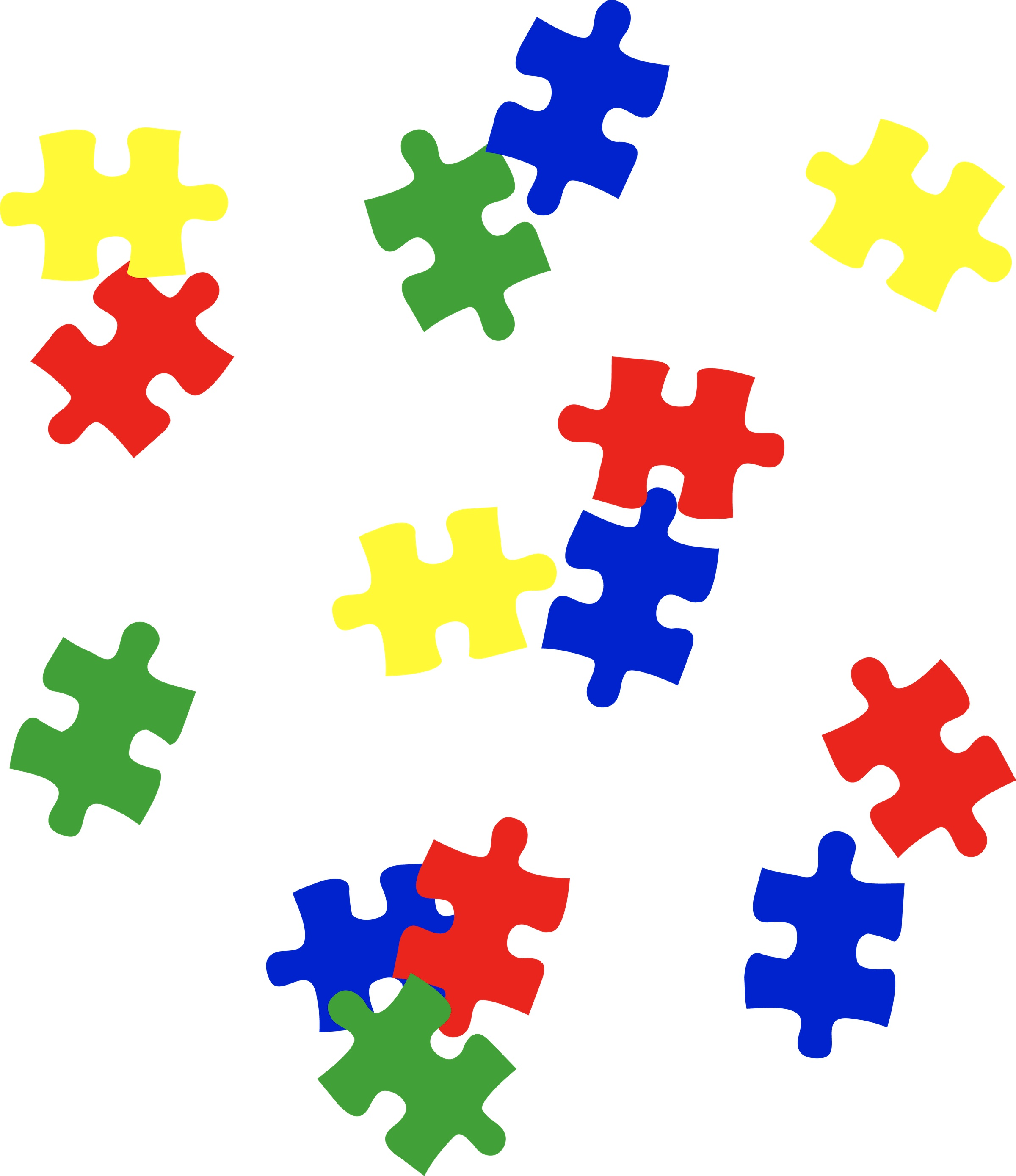 37 Autism Puzzle Piece Clip Art   Free Cliparts That You Can Download