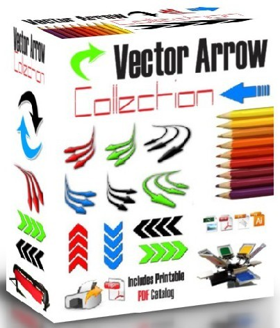 Arrows Vector Clipart For Vinyl Cutter Plotter Screen Printing Eps Ai