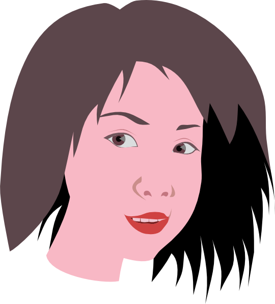 Asian Woman Clip Art At Clker Com   Vector Clip Art Online Royalty
