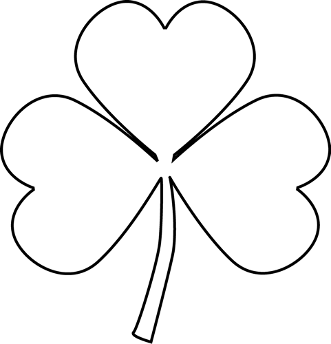 Cute Shamrock Clipart - Clipart Kid
