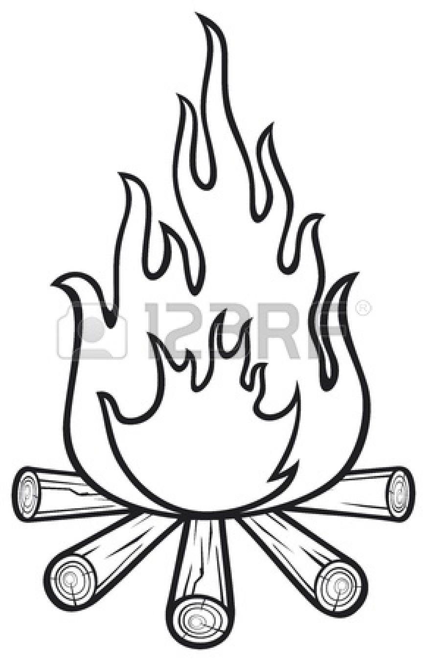 Campfire Cartoon   Clipart Panda   Free Clipart Images