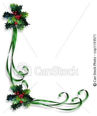 Christmas Holiday Clip Art Borders Christmas Light Border Clip Art