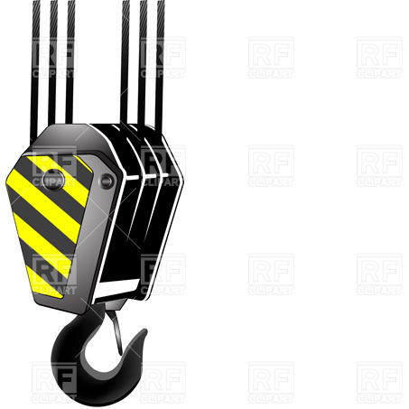 Crane Hook Download Royalty Free Vector Clipart  Eps
