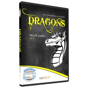 Dragons Clipart T Shirt Screen Printing Designs Eps Vector Clip Art