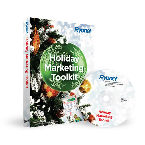 Home   Ryonet Holiday Marketing Toolkit Vector Clipart How To   Dvd