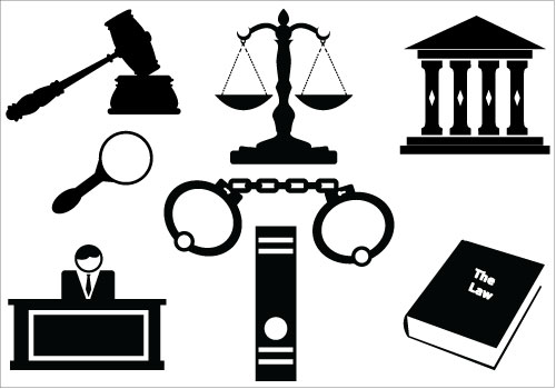 Law Firm And Order Lawyer Attorney Clipart