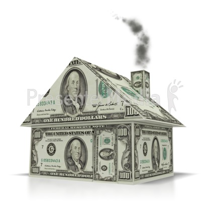 Money House   Home And Lifestyle   Great Clipart For Presentations