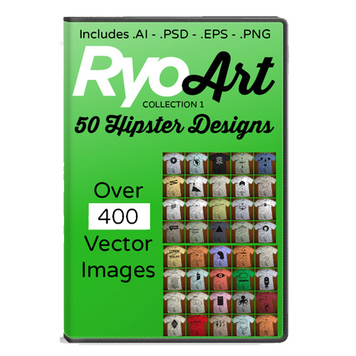 Ryoart Vector Collection 1   50 Hipster Designs