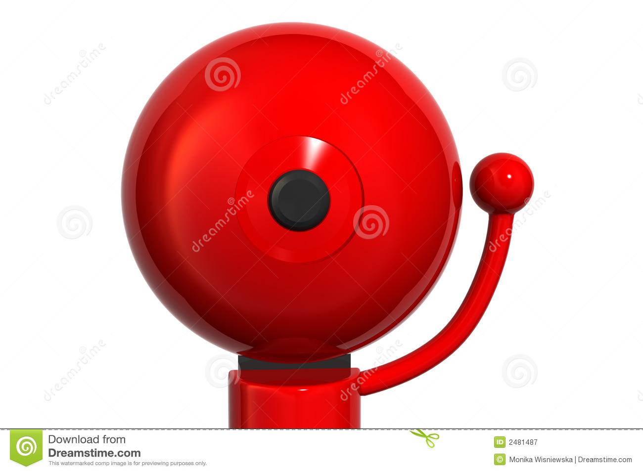 Red School Bell Clipart - Clipart Suggest
