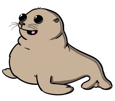 Baby Seal Clipart - Clipart Kid