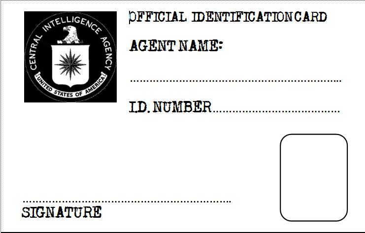 Great for a mystery unit or fingerprinting unit!   secret agent.
