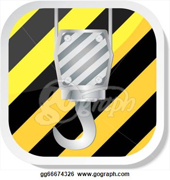Stock Illustration   Crane Hook  Clipart Drawing Gg66674326   Gograph