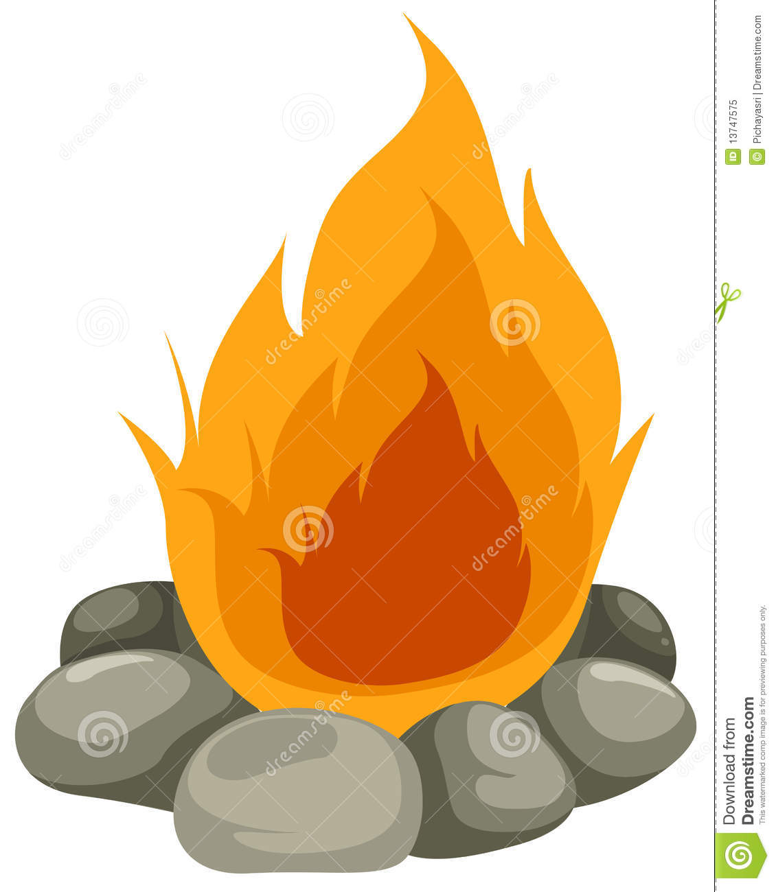 Campfire Clipart - Clipart Kid