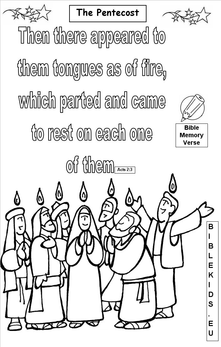 Pentecost christian coloring pages ~ Sunday Bible Quotes Clipart - Clipart Suggest