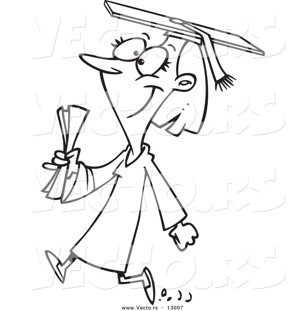 Student coloring clipart clipart suggest for Coloring pages for college students