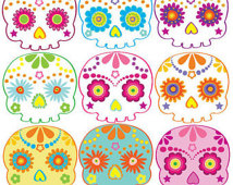 Clipart Dios De Los Muertos Clip Art Day Of The Dead Halloween Clipart