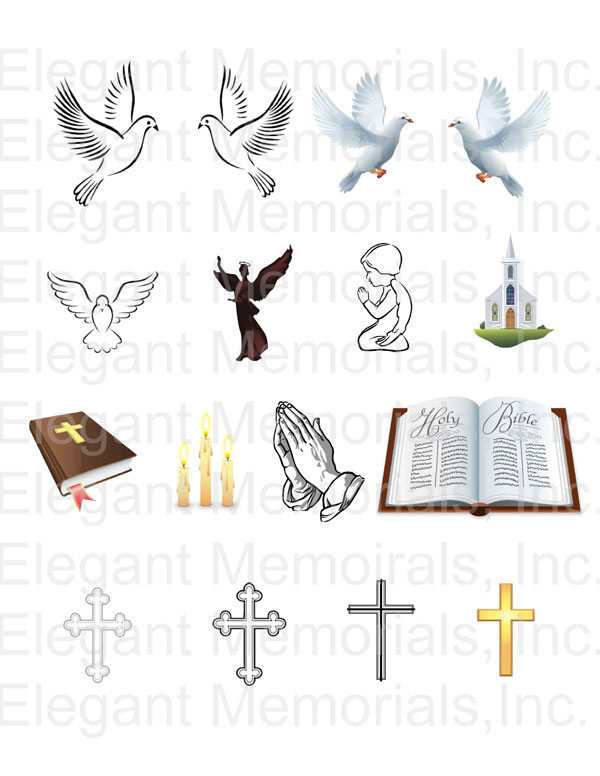 Free Clip Art for Funeral Programs