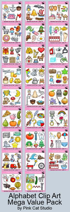 Packed Collection Of 156 Unique Clipart Designs Contains 6 Clip Art