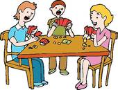 People Playing Games Clip Art Clipart