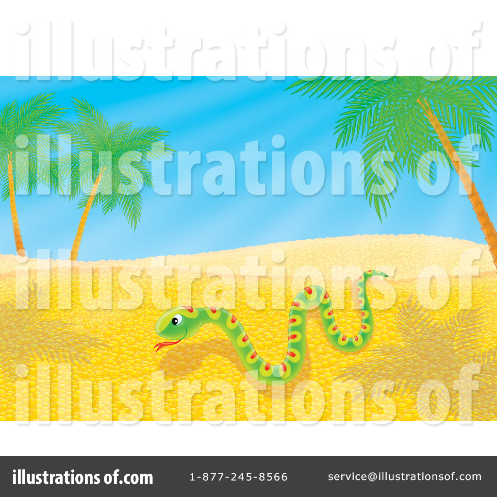 Royalty Free  Rf  Snake Clipart Illustration By Alex Bannykh   Stock