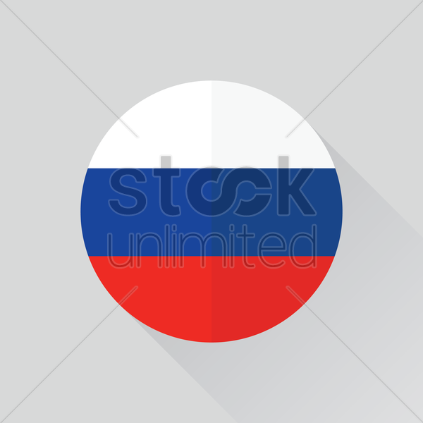 Russia Flag Vector Clipart   1362753   Stock Unlimited