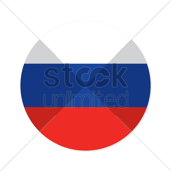Russia Flag Vector Clipart   1371796   Stock Unlimited