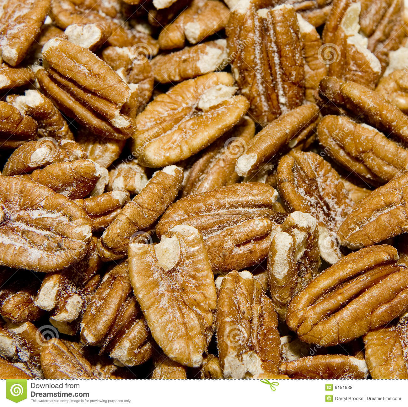 Salty Pecans Royalty Free Stock Photos   Image  9151938