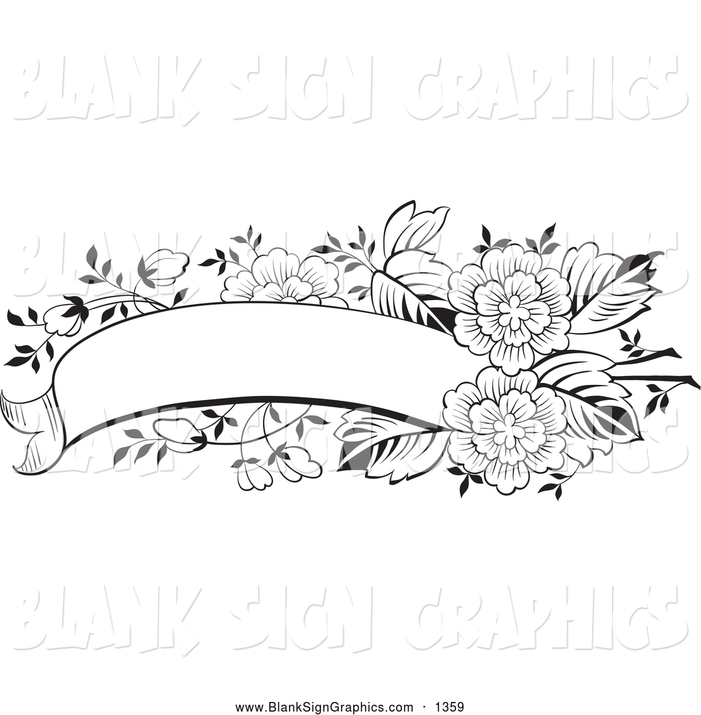 clipart floral banner - photo #25