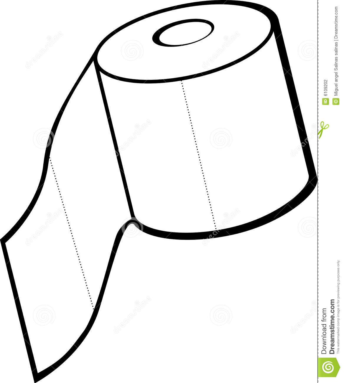 Toilet Paper In Toilet Clipart - Clipart Suggest
