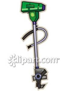 Weed Whacker Royalty Free Clipart Picture