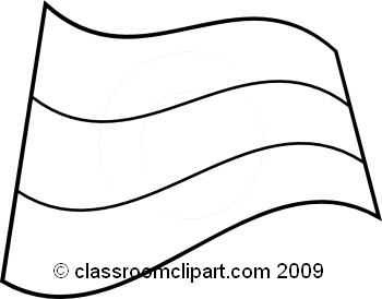 World Flags   Russia Flag Bw   Classroom Clipart