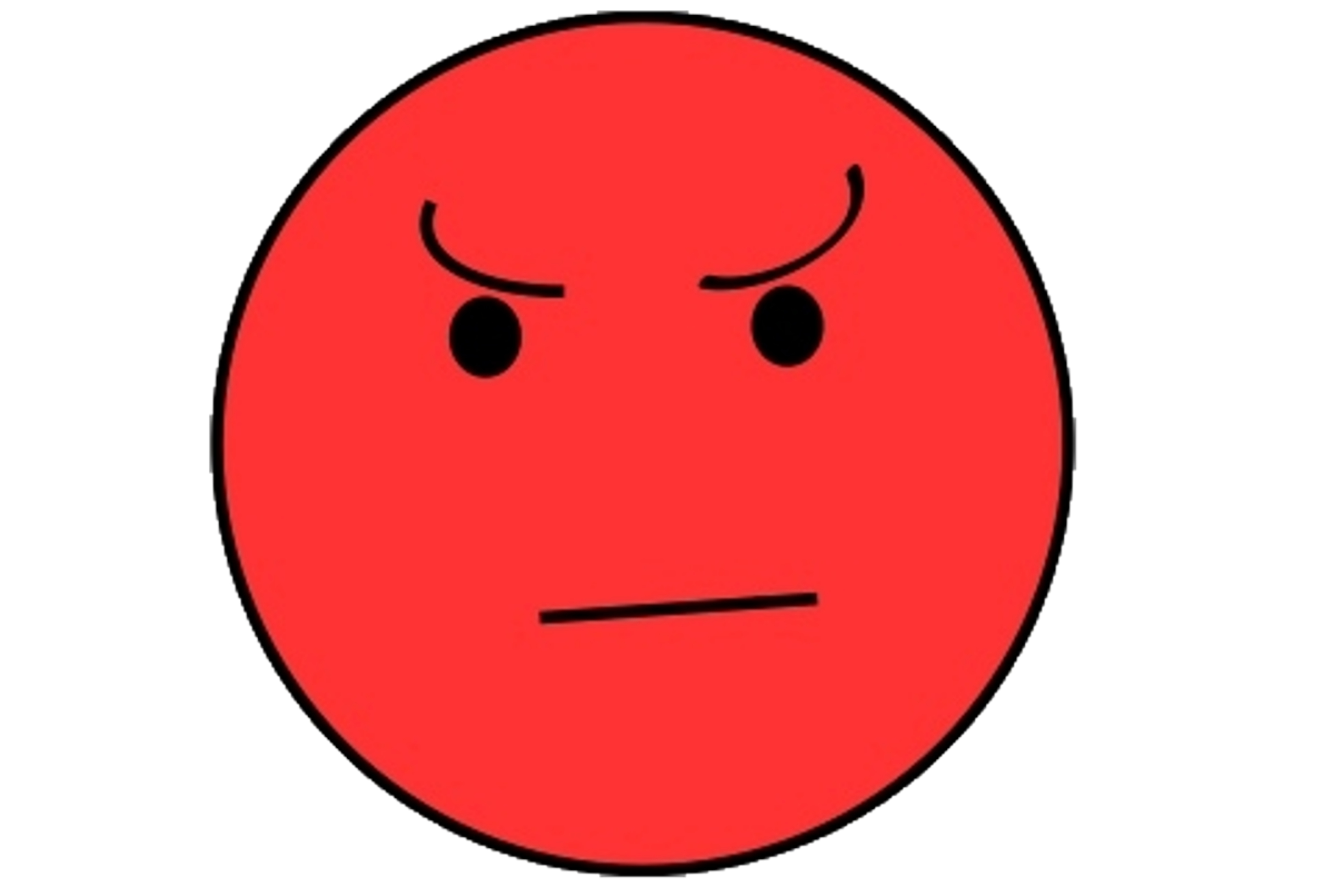angry kid face clip art - photo #32