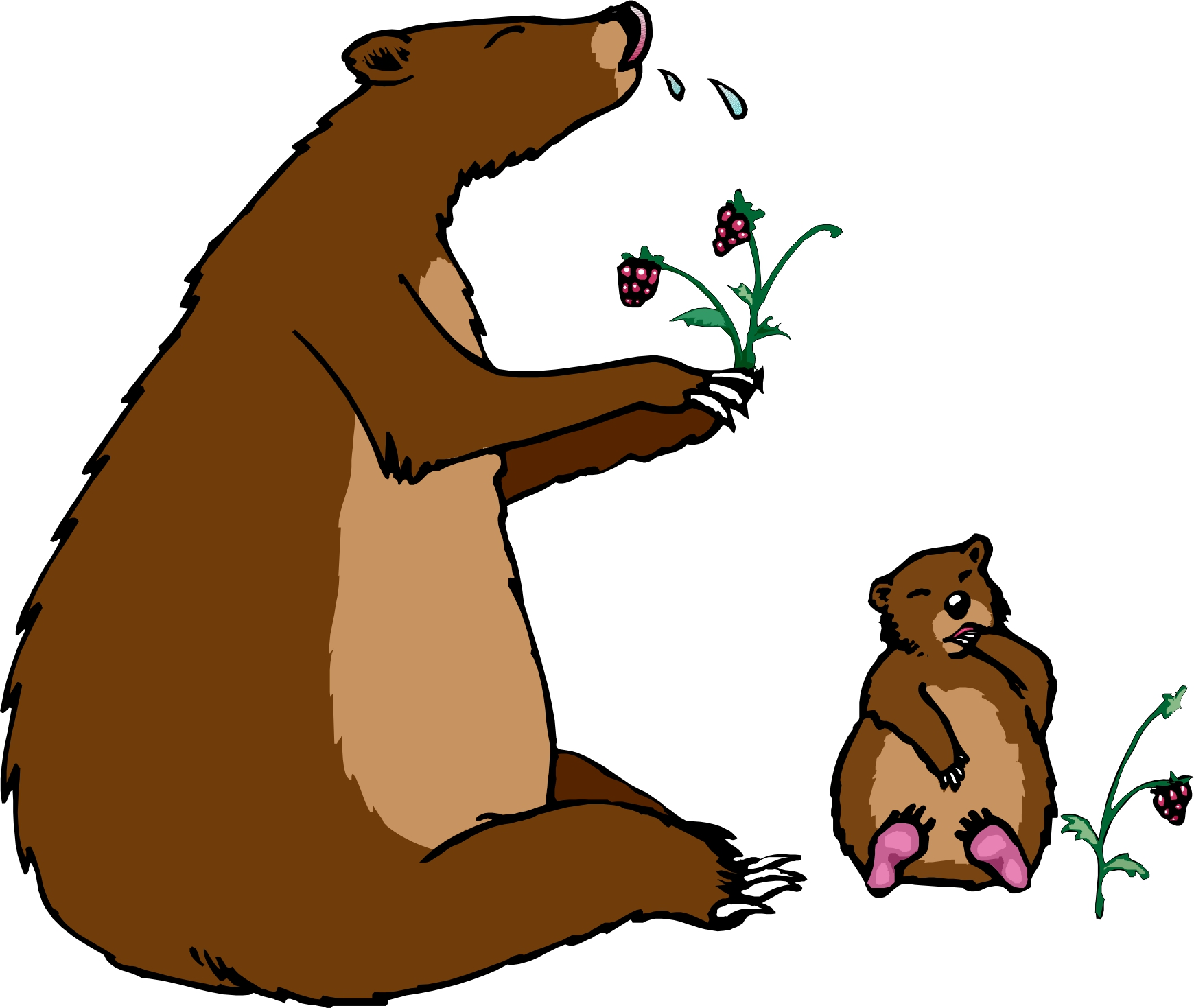 14 Cartoon Brown Bear Free Cliparts That You Can Download To You