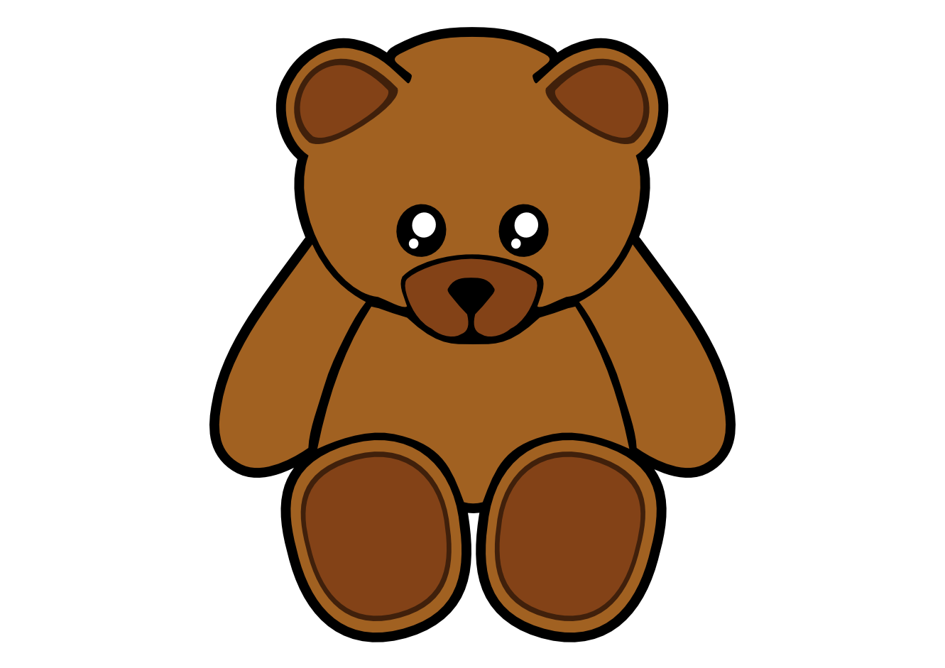 Art   Simple Teddy Bear Clipartist Net 2012 June Art Clip Art Clipart