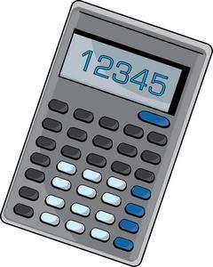 Calculator Clipart - Clipart Kid