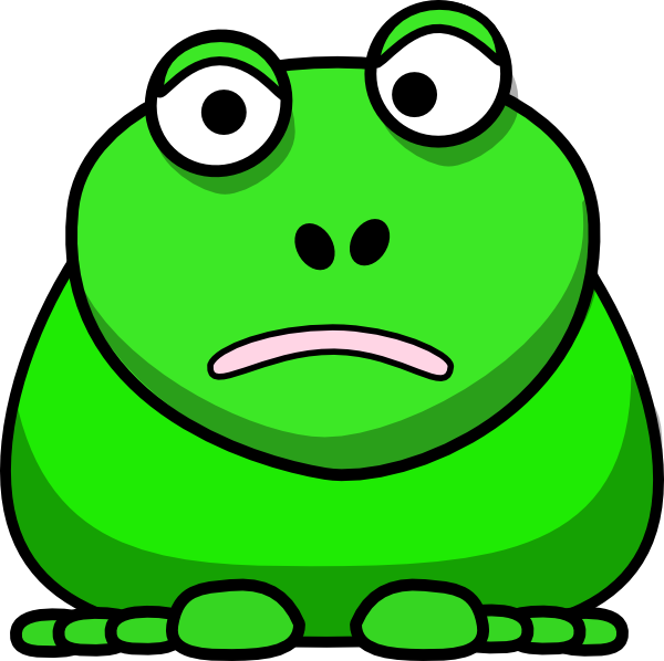 Cartoon Frog Clip Art At Clker Com   Vector Clip Art Online Royalty