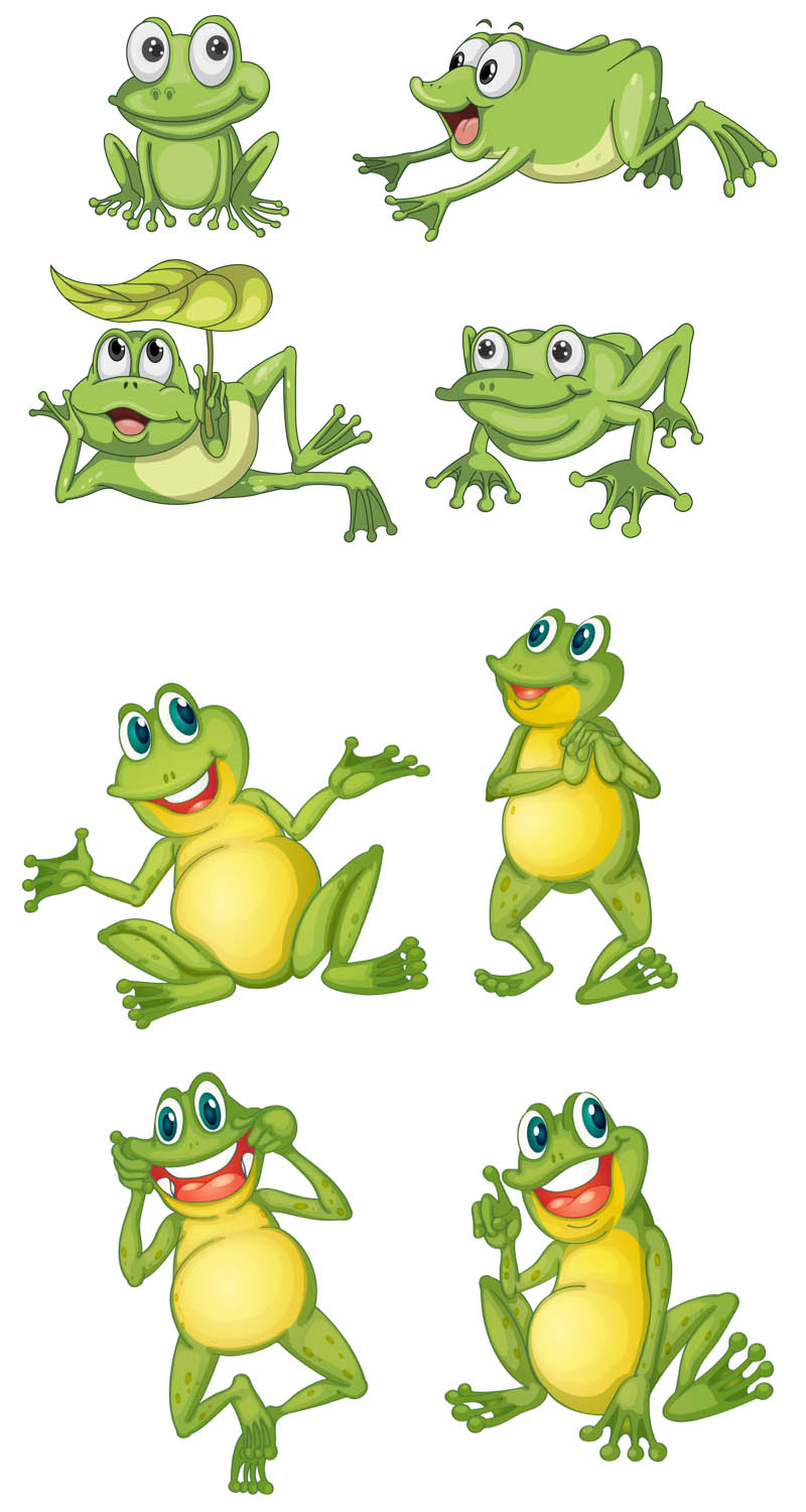Cartoon Frog Vector   Vector Graphics Blog