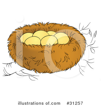 Eagle Nest Clipart Royalty Free  Rf  Nest Clipart
