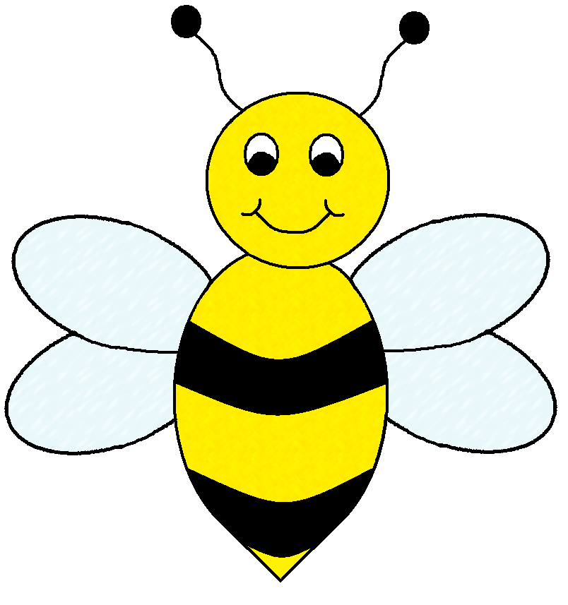 Flying Bee Clipart - Clipart Kid