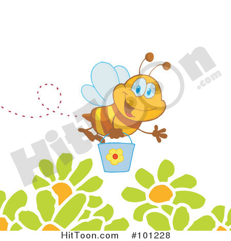 flying bee clipart clipart suggest