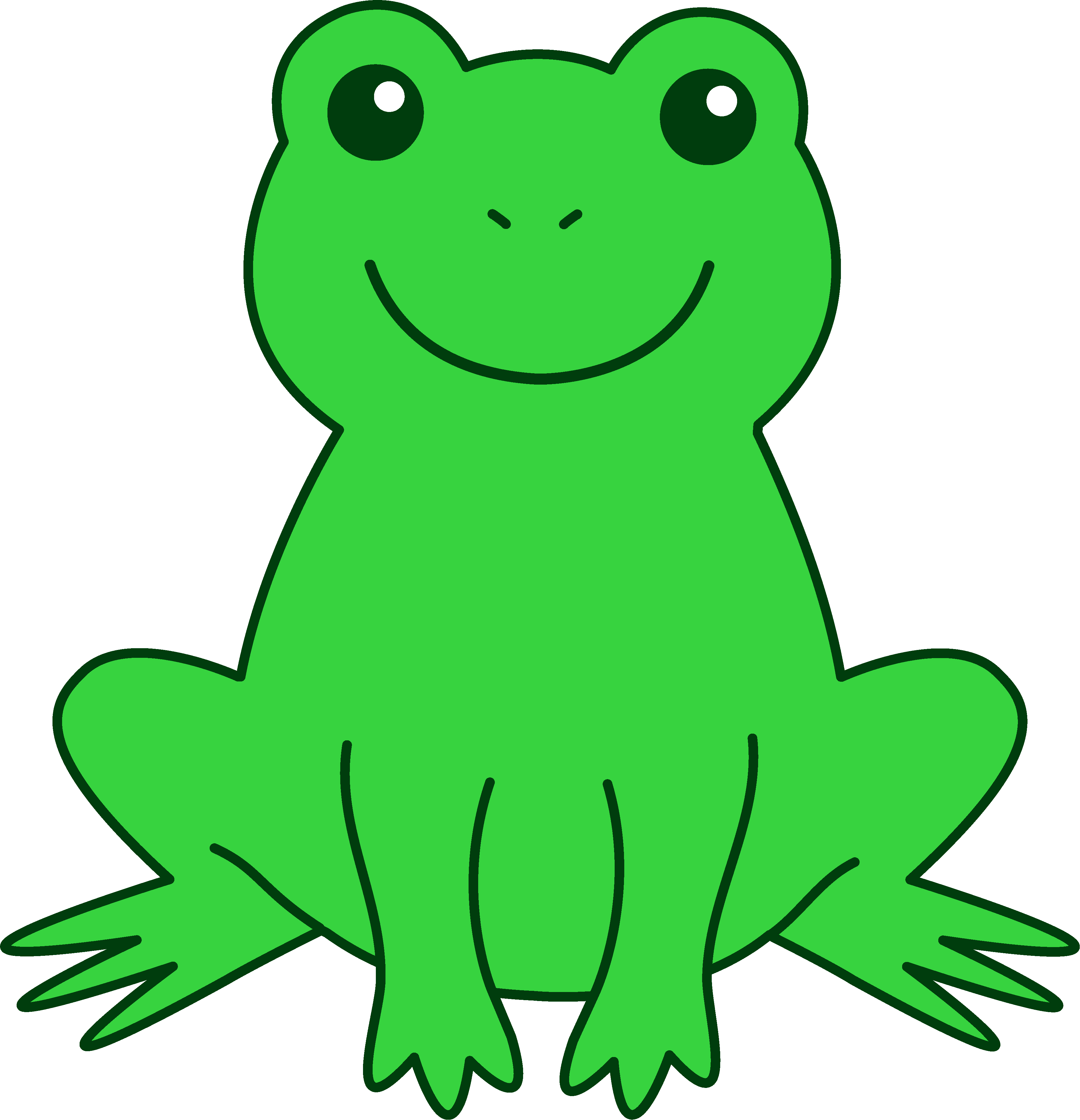 Green Frog Clipart   Clipart Panda   Free Clipart Images